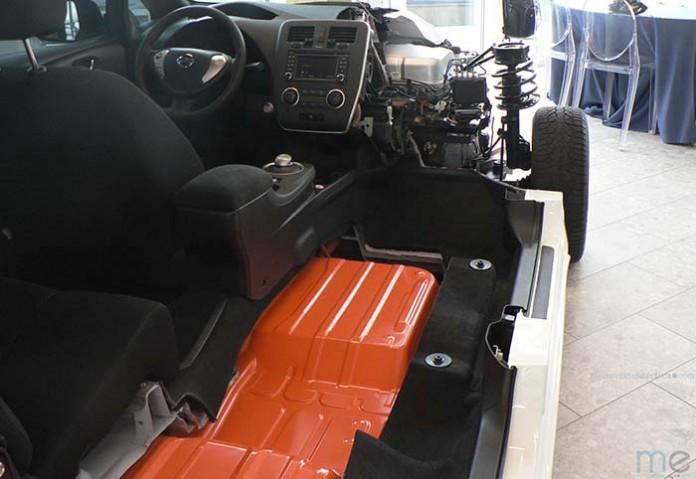 Batería de 24 kWh del Nissan Leaf