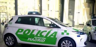El Renault Zoe de la policía municipal ya formaba parte de la flota anteriormente