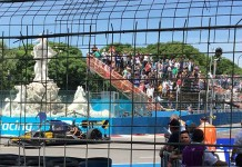 El breve debut de Roborace acaba en accidente