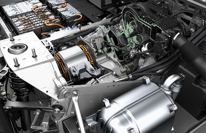 Extensor de rango del BMW i3 REX de dos cilindros, 647 cm3 y 34 CV