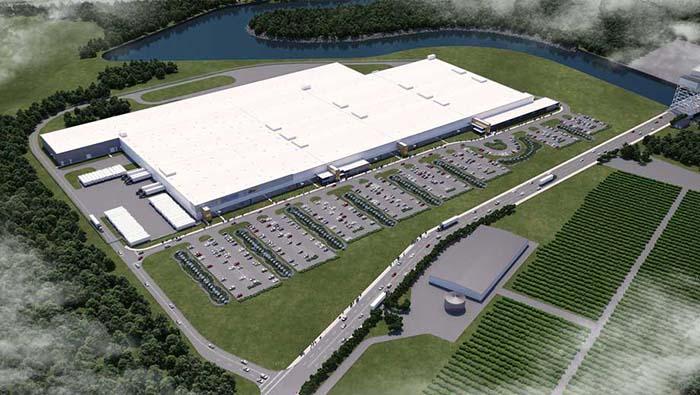 Fábrica de SolarCity en Buffalo