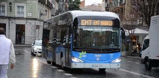 Madrid estrena un autobús eléctrico de Irizar
