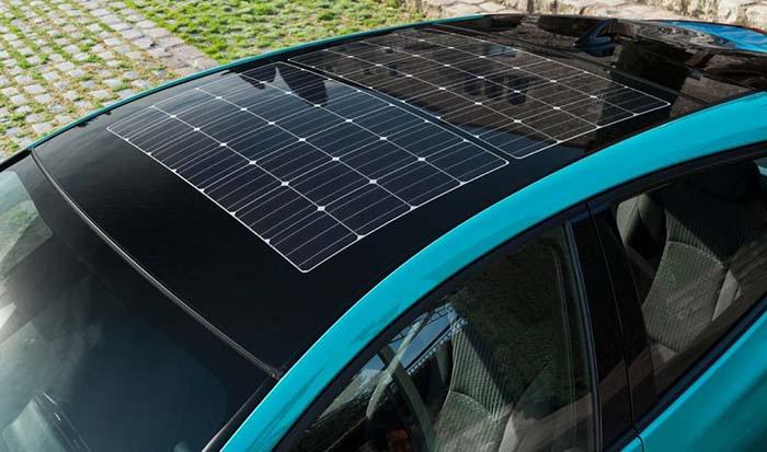 Techo solar del Toyota Prius Prime