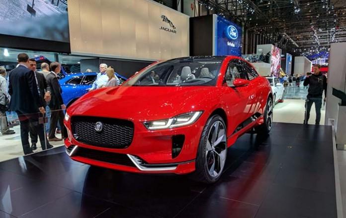 Jaguar I-PACE en el Salón de Ginebra 2017