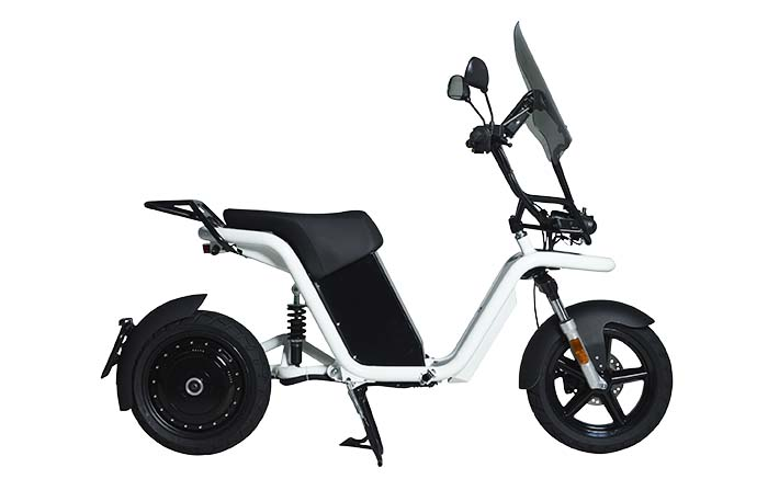 moto elctrica thecore de going green