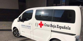 Nissan e-NV200 Evalia cedida por Nissan a la Cruz Roja de Madrid
