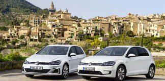Presentación de los nuevos Volkswagen e-Golf y Golf GTE