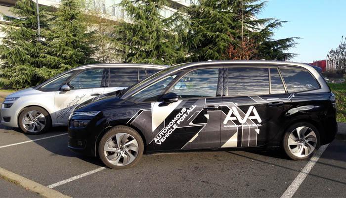 Pruebas del vehículo autónomo del Grupo PSA para no expertos