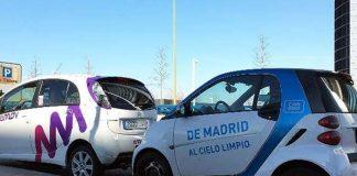 Servicios de carsharing eléctrico en Madrid, emov y car2go-Foto El Economista