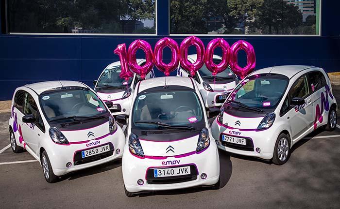 emov, más de 100.000 usuarios registrados en 100 días de servicio