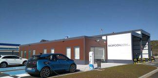 Ibil instala un cargador de Santiago de Compostela capaz de revisar coches eléctricos