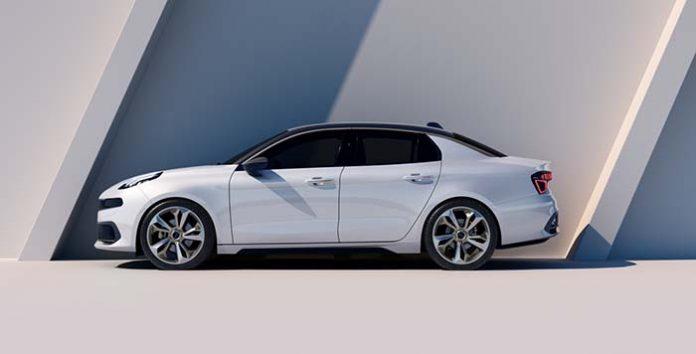 LynkCo Concept 03 exterior