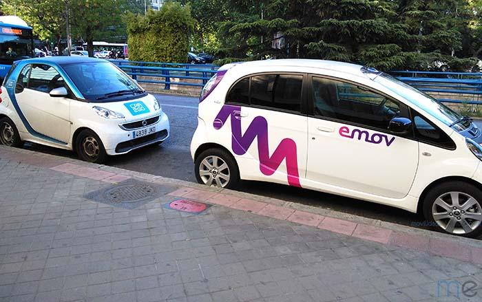 Servicios de carsharing eléctrico en Madrid