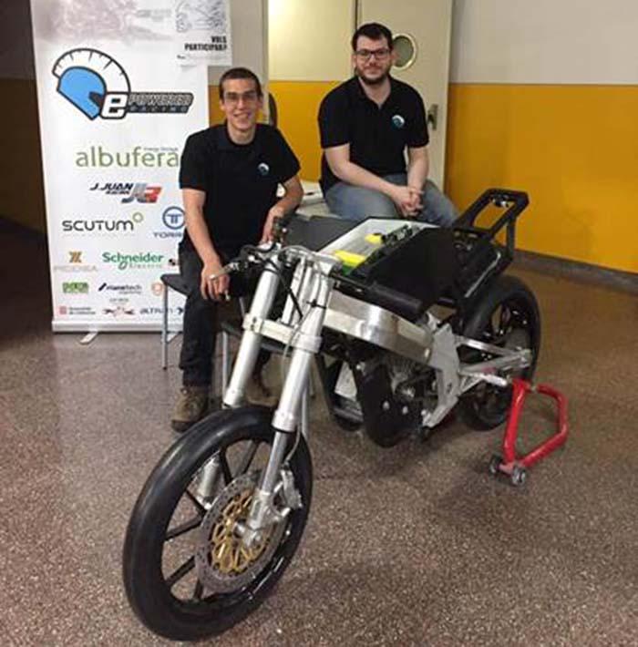 Albufera Energy Storage en el Motostudent 2017-2018