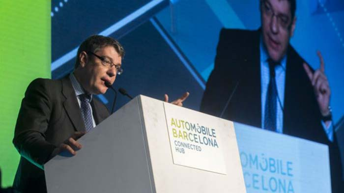 Alvaro Nadal en el Connected Hub del Automobile Barcelona - Foto EFE