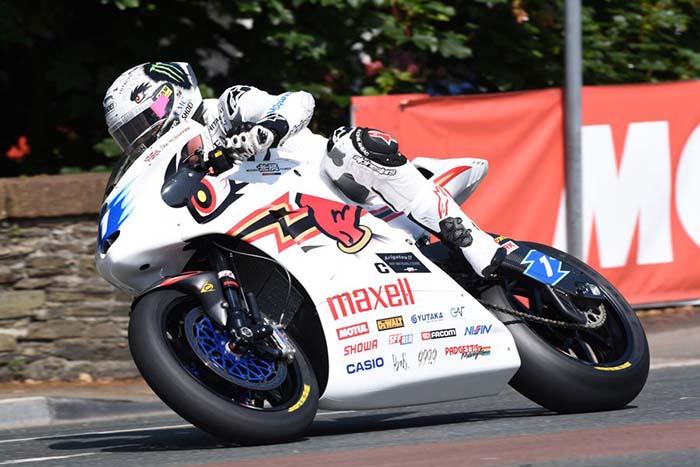 Carreras de motos eléctricas TT Zero en la Isla de Man
