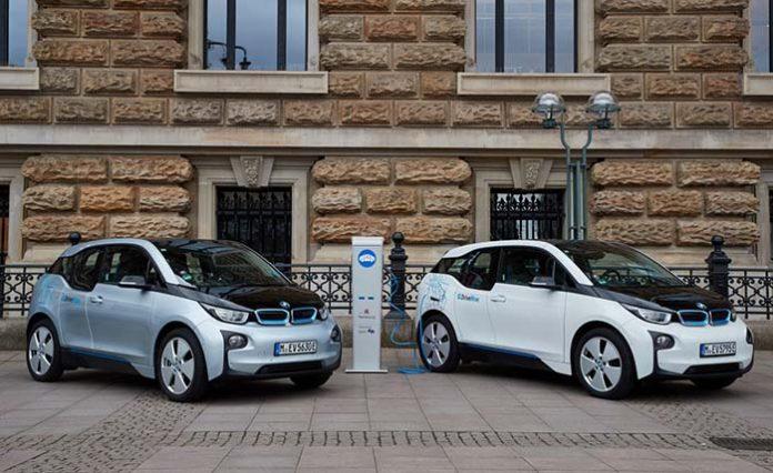 El BMW i3 se apunta al carsharing en Hamburgo