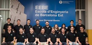 El equipo EEBE e-Powered Racing de la UPM de Barcelona