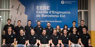 El equipo EEBE e-Powered Racing de la UPM de Barcelona