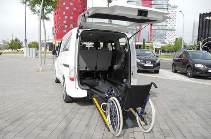 La Nissan e-NV200, el primer coche eléctrico para personas con movilidad reducida
