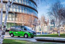 Las primeras cinco flotas Ford Transit híbridas enchufables en Londres