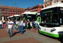 Los cinco autobuses desarrollados por Vectia ya operan en modo eléctrico en Valladolid