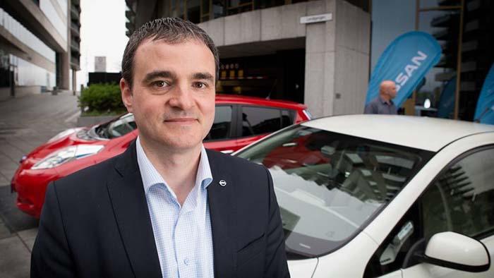 Pierril Verter, gerente de vehículos eléctrico de Nissan en el norte de Europa