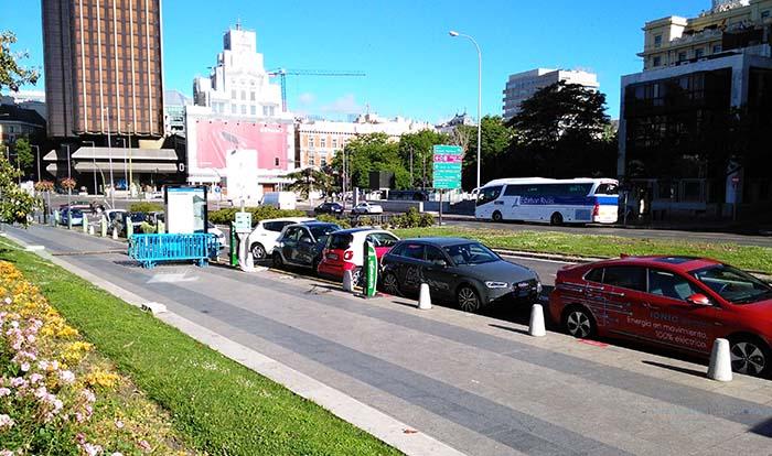 Recarga de vehículos eléctricos en VEM 2017