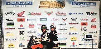 David Ávila finaliza la Rider1000, 500 kilómetros en moto eléctrica