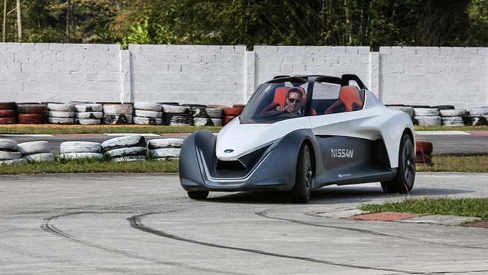 El Nissan BladeGlider debuta en Europa en el Festival de Velocidad de Goodwood