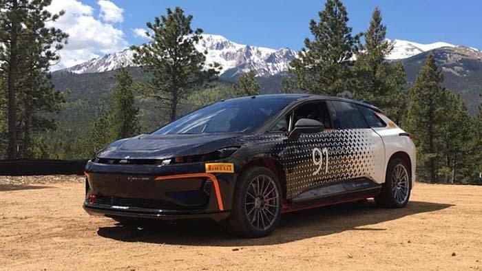 Faraday Future prepara el FF91 para Pikes Peak