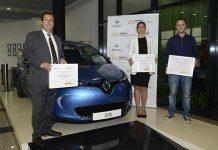 Ganadores de los V Premios a la mejor práctica en Movilidad Sostenible - Ayuntamiento de Sevilla, Iberdrola y Parkifast