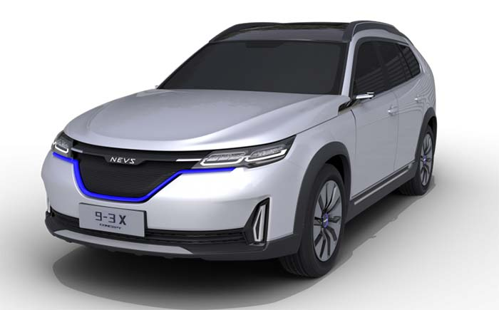 NEVS 9-3x concept