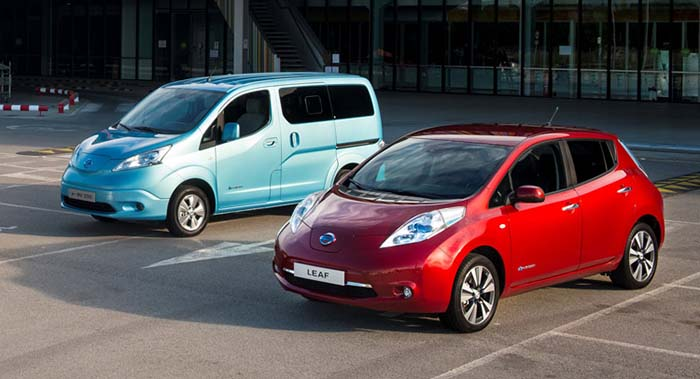 Nissan Leaf y e-nv200