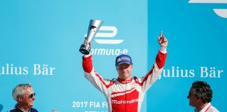 Rosenqvist, protagonista del ePrix de Berlín