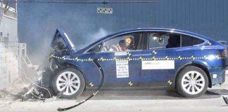 Tesla Model X, 5 estrellas en los test de seguridad de NHTSA