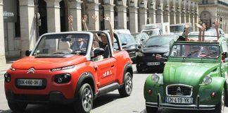 Visitar París a bordo de un Citroën E-MEHARI