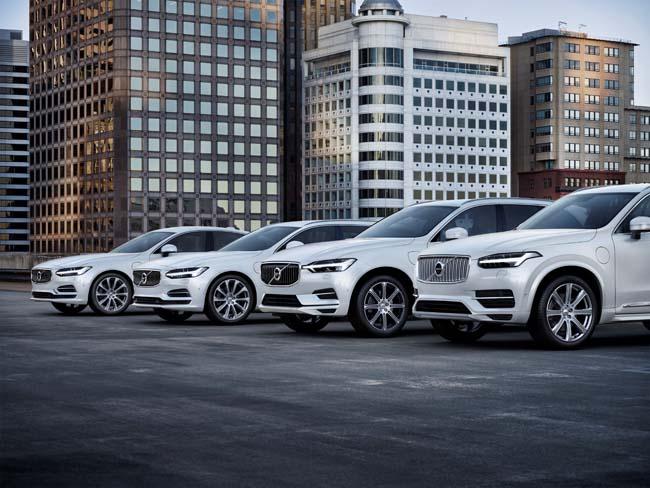 Coches eléctricos Volvo en 2019