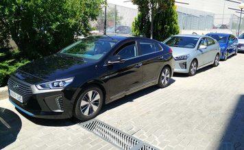 Flota de Hyundai Ioniq híbrido enchufable