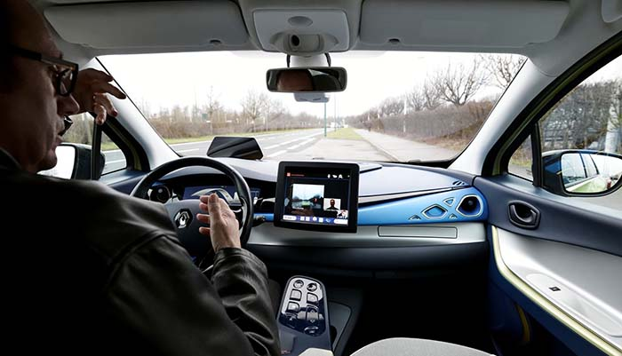 La Alianza ya ha comenzado ensayos virtuales con vehículos autónomos utilizando el programa de simulación SCANeRTM