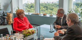Angela Merkel, entrevista en Superillu - Foto Superillu.de