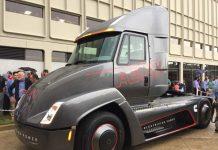 Cummins presenta el Class 7 concept, un camión eléctrico que llegará en 2019