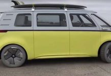 Imagen real del Volkswagen ID BUZZ en Pebble Beach, California - Vídeo David Benardo