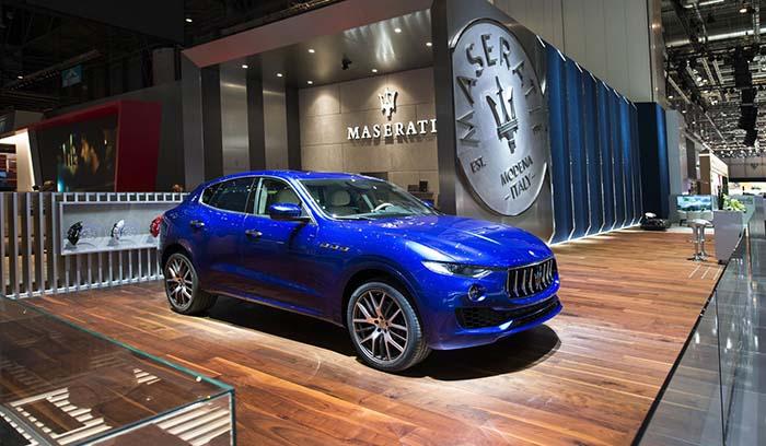Maserati Levante, Salón del Automóvil de Ginebra