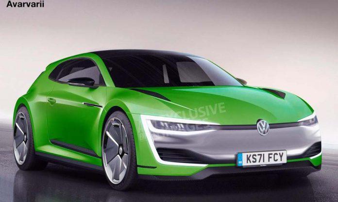 Volkswagen Scirocco eléctrico - Imagen AutoExpress
