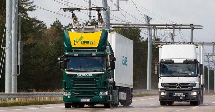 eHighway, el segundo proyecto de autopista electrificada para camiones de Siemens