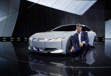 Harald Krüger, Presidente del Consejo de Dirección de BMW, presenta el BMW i Vision Dynamics