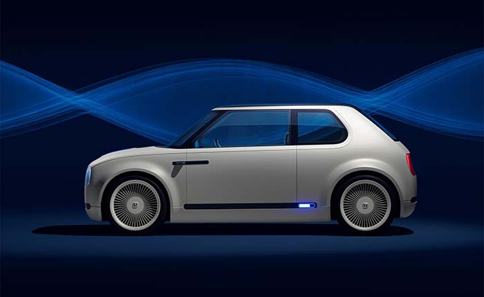 Honda Urban EV Concept lateral