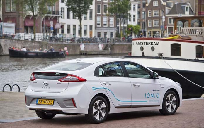 Hyundai Ioniq eléctrico