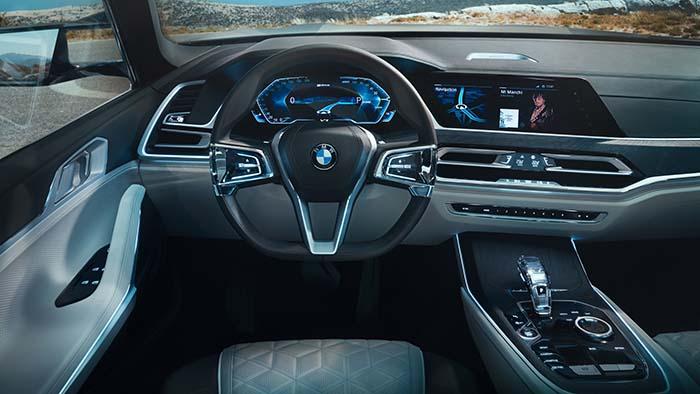 Interior del BMW X7 iPerformance Concept